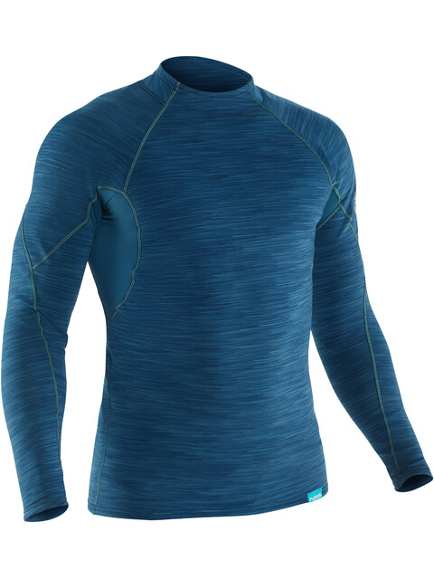 NRS HydroSkin 0.5 Long Sleeve Shirt Men Moroccan Blue